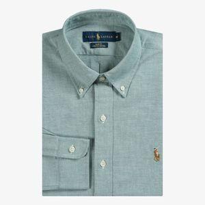 Ralph Lauren slim fit stretch Oxford button down L